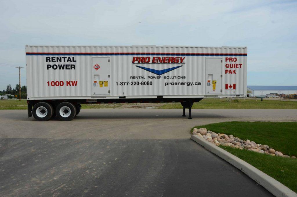 800 - 1000 KW Diesel Generator