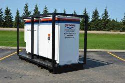 Double AA Distribution Power Distribution