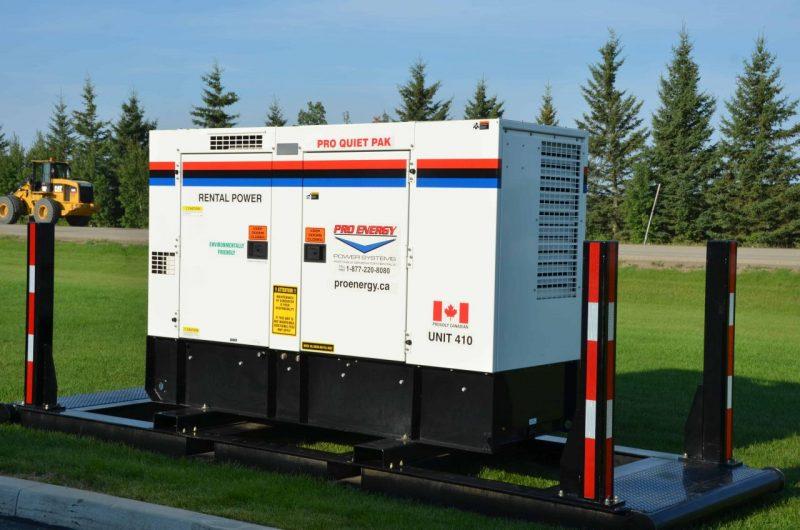 60 - 75 KW Single Pak Diesel Generator