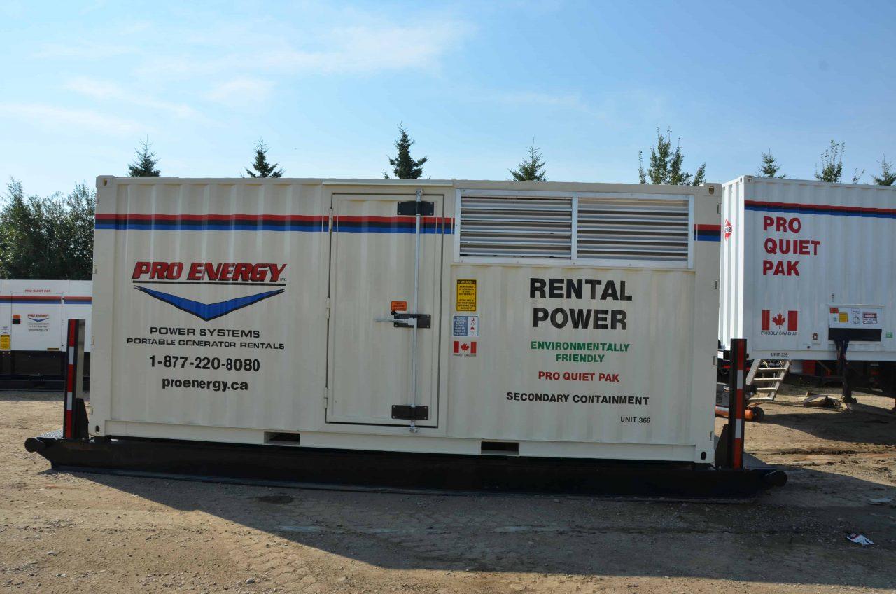 130 - 150 KW Natural Gas / Propane Generator