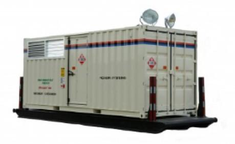 80 - 100KW Twin Pak Diesel Generator