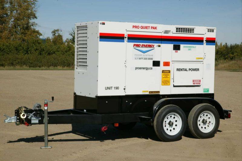 60 - 75 KW Diesel Generator
