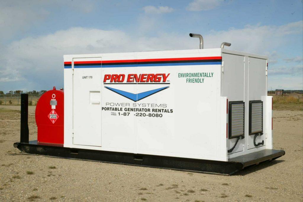 60 - 75 KW Twin Pak Diesel Generator
