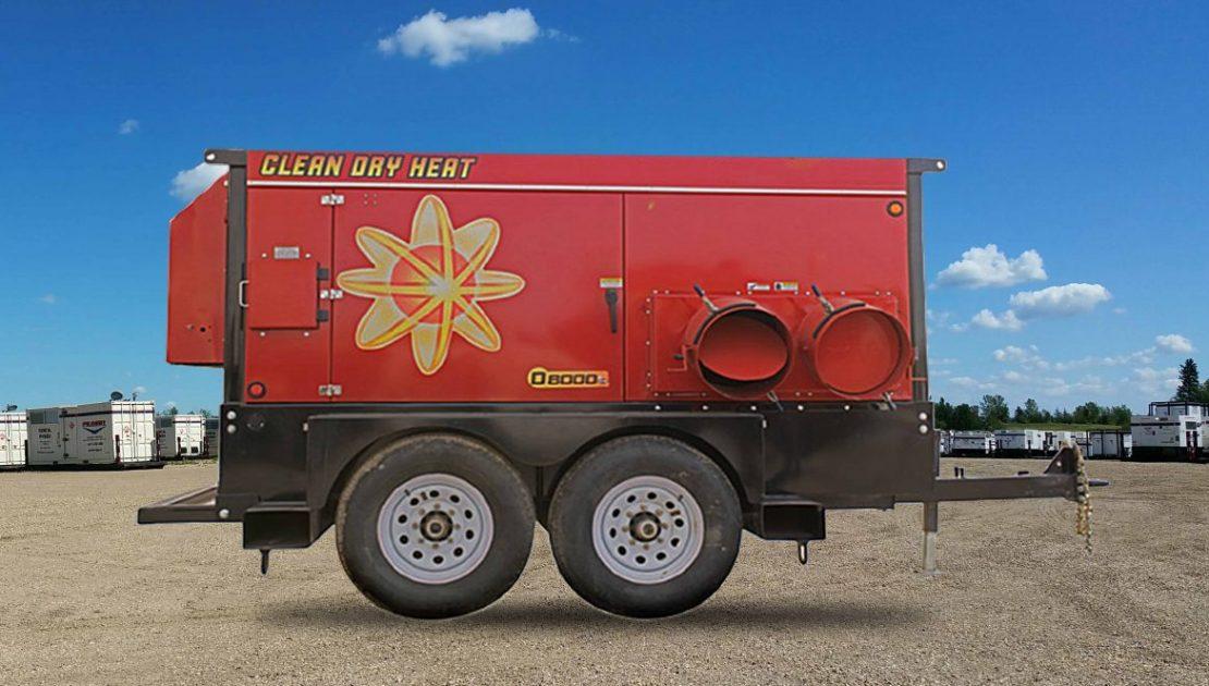 D8000 Flameless Air Heater