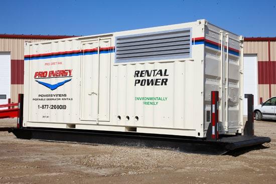 500 - 650 KW Diesel Generator